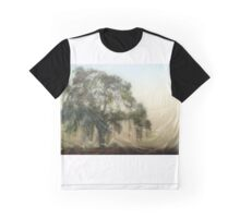 Oak Wood Abstract Graphic T-Shirt