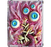 Bright eyes monster portrait iPad Case/Skin