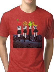 Fruit Headed School Girls Tri-blend T-Shirt