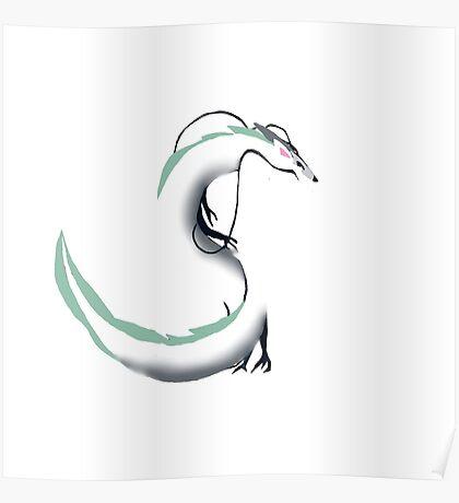Spirited Away Haku Dragon  Poster