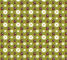 Lady Pug Pattern by boodapug