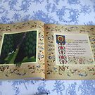 Pages of my Oscar and the Roses book by Donna Huntriss