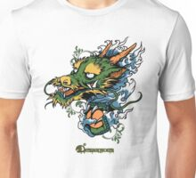 Disignious chinese dragon Unisex T-Shirt