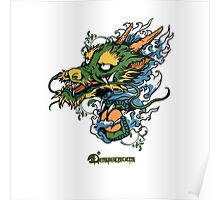 Disignious chinese dragon Poster