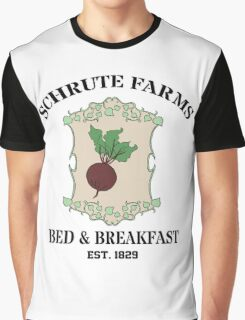 Schrute Farms Bed And Breakfast - Dwight Schrute - The Office Graphic T-Shirt