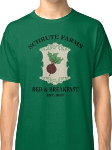 Schrute Farms Bed And Breakfast - Dwight Schrute - The Office Classic T-Shirt