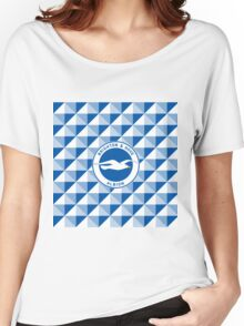 Brighton & Hove Albion football club Women's Relaxed Fit T-Shirt