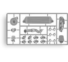 Mini turbo kit Canvas Print