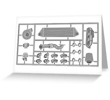 Mini turbo kit Greeting Card