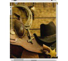 Old West Marshal iPad Case/Skin