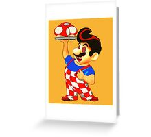 The Mushroom Man Greeting Card