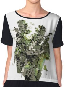 Metal Gear Solid Snake Eater Chiffon Top