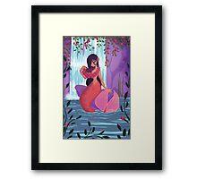 Waterfall Lei Framed Print