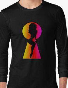 Peeping Tom Long Sleeve T-Shirt