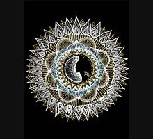 Silver and Gold Woman Mandala Unisex T-Shirt