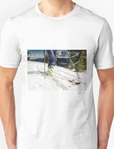 back country ski tour Unisex T-Shirt