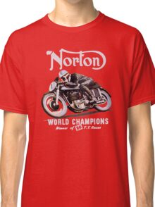 NORTON TT VINTAGE ART WINNER OF 26 RACES Classic T-Shirt