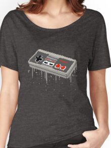 Pixel NES Controller Women's Relaxed Fit T-Shirt