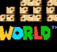 Super Goo World Sticker