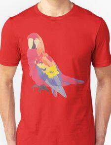 Parrot Flies by Algernon Cadwallader Unisex T-Shirt