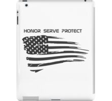 USA Cops/Military iPad Case/Skin