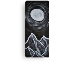 Everybody Look at the Moon Canvas Print