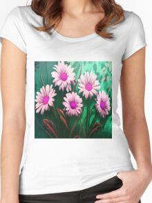 Mythical SunFlowers Women's Fitted Scoop T-Shirt