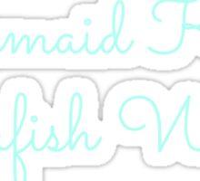 Mermaid Kisses, Starfish Wishes Sticker