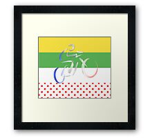 Le Tour Framed Print