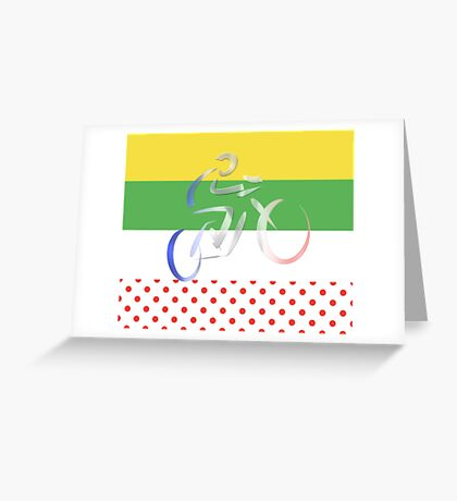 Le Tour Greeting Card