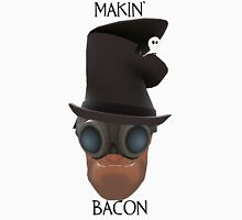 "TF2 Gibus Engineer ""Makin' Bacon"" Unisex T-Shirt"
