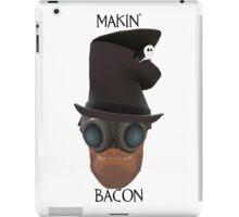 "TF2 Gibus Engineer ""Makin' Bacon"" iPad Case/Skin"