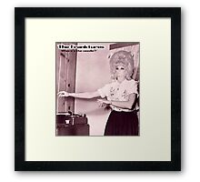 Where is the needle!!! Framed Print
