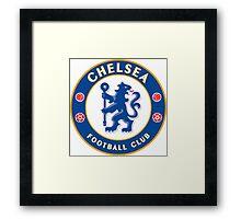 Chelsea Badge Framed Print