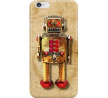 Vintage Robot 2 iPhone case iPhone Case/Skin
