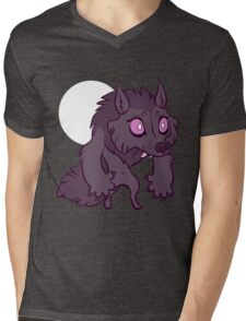 Chibi Werewolf Mens V-Neck T-Shirt