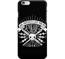 Artist's Life iPhone Case/Skin