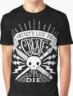 Artist's Life Graphic T-Shirt