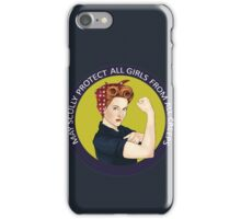May Scully protect all girls from all creeps iPhone Case/Skin