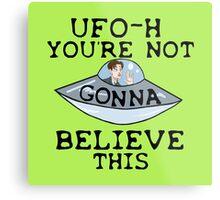 UFO - H Metal Print