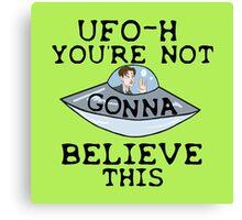 UFO - H Canvas Print