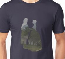 Jamie and Claire silhouettes Unisex T-Shirt