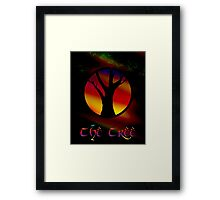 The Tree - A Rainbow World Tree Design Framed Print