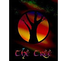 The Tree - A Rainbow World Tree Design Photographic Print
