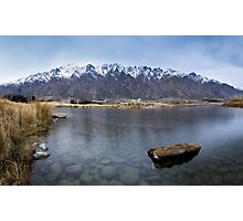 The Remarkables from Jacks Point Photographic Print