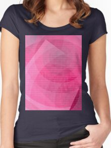 Circular Roses Women's Fitted Scoop T-Shirt