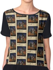 The War Doctor in Roswell Chiffon Top