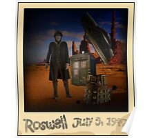 The War Doctor in Roswell Poster