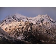Glenorchy's Mountains Photographic Print