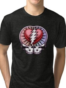 They Love Each Other (shape) Tri-blend T-Shirt